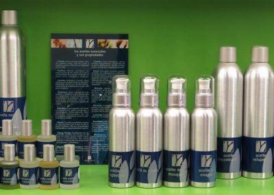 Aceites vegetales y aromaterápia