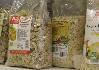 Cereales y semillas bio