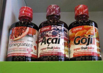 Concentrados antioxidantes