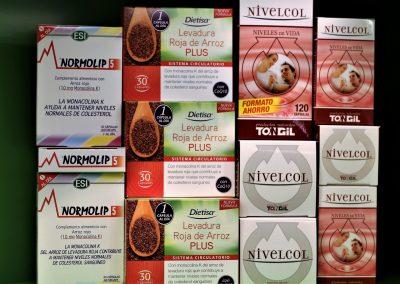 Control del colesterol