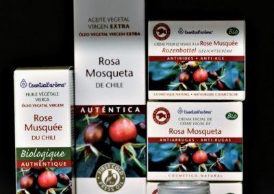 Cosmética con Aceite Rosa Mosqueta