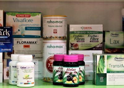 Tránsito intestinal, probioticos
